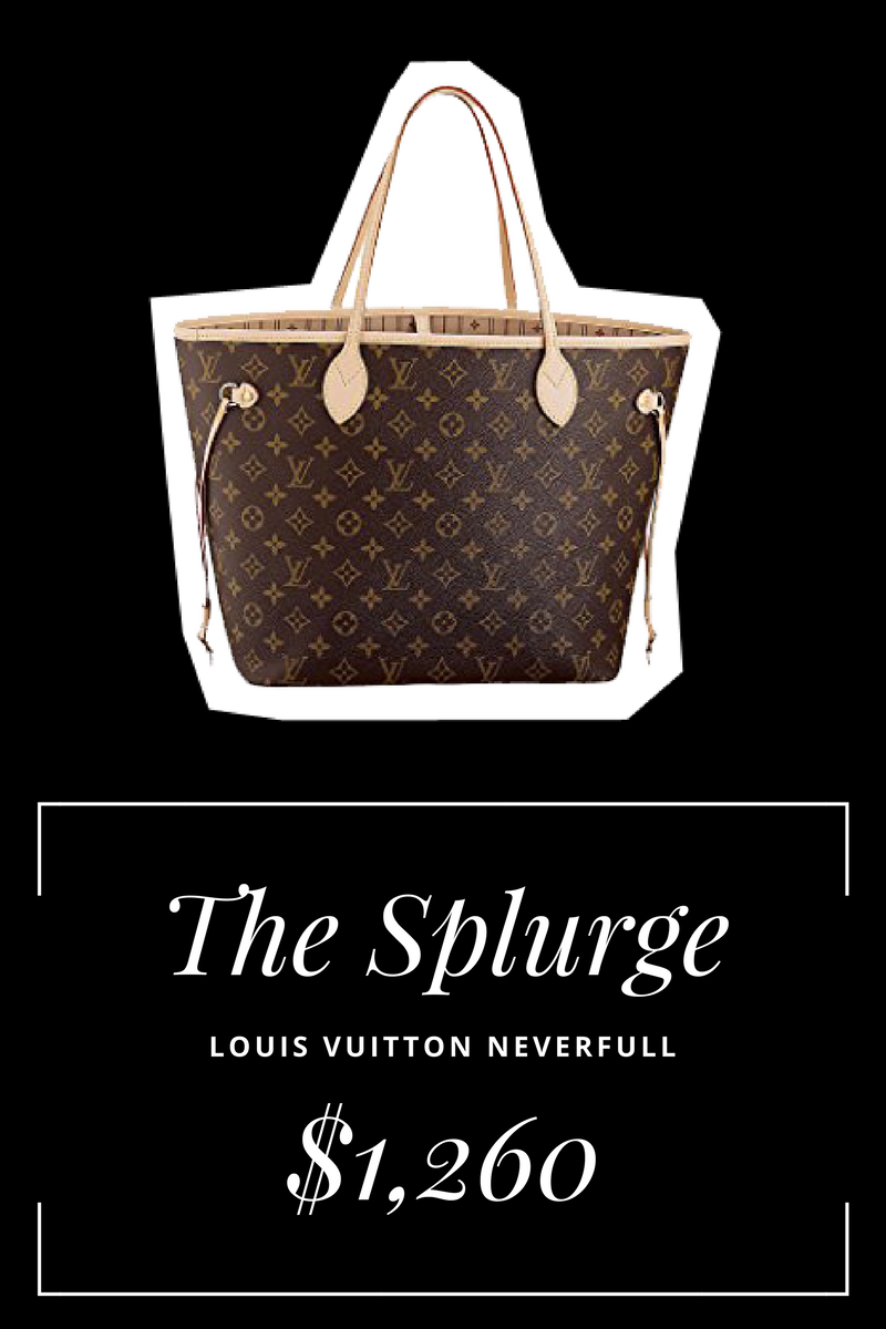 7cc8f55bed7 Splurge vs. Steal  Designer Handbag Dupes