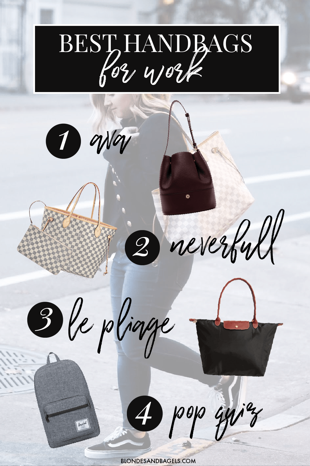 The Best Handbags To Take Work