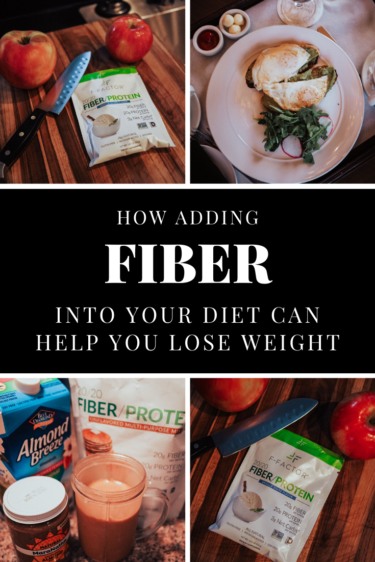 Add fiber into your diet to lose weight and reduce bloat! Fiber helps you lose weight quick, and fiber has lots of benefits. Fiber rich foods help reduce bloat, help digestion, and more!