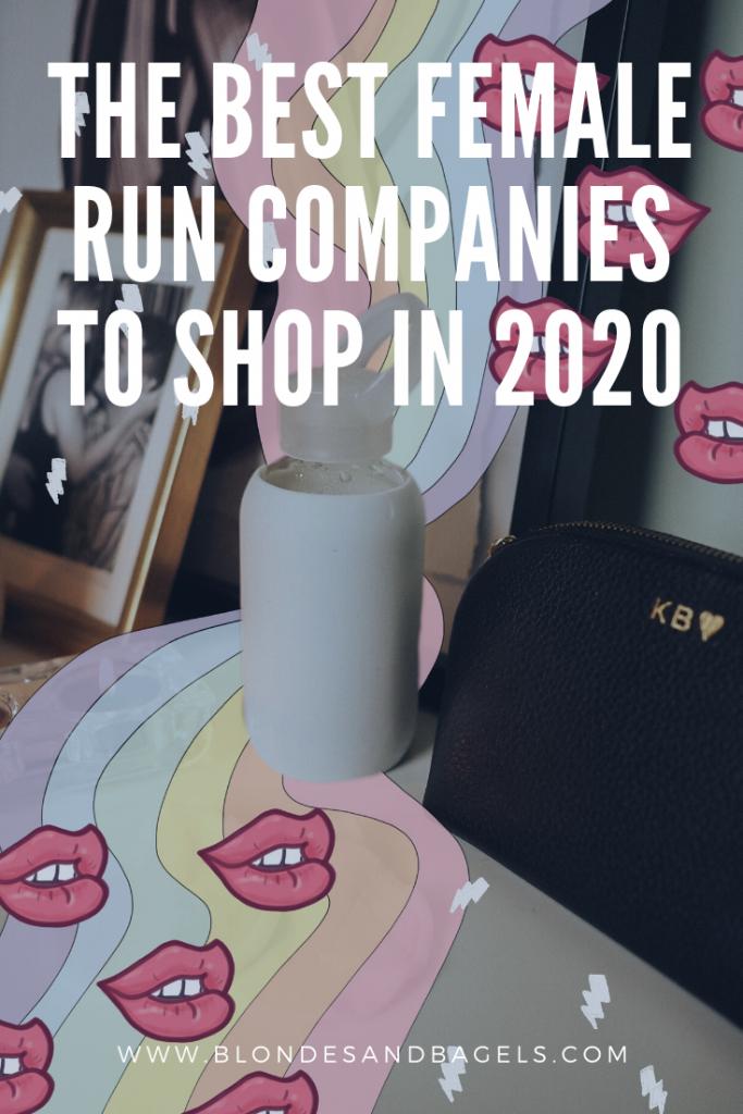 female run companies to shop 2020