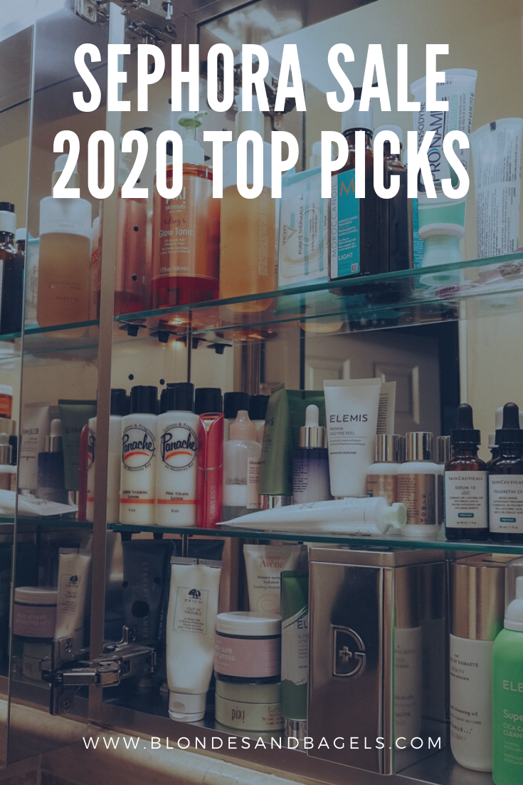 Lifestyle blogger Kelsey from Blondes & Bagels dishes out the best Sephora Sale 2020 top picks to buy in this year's Sephora sale!