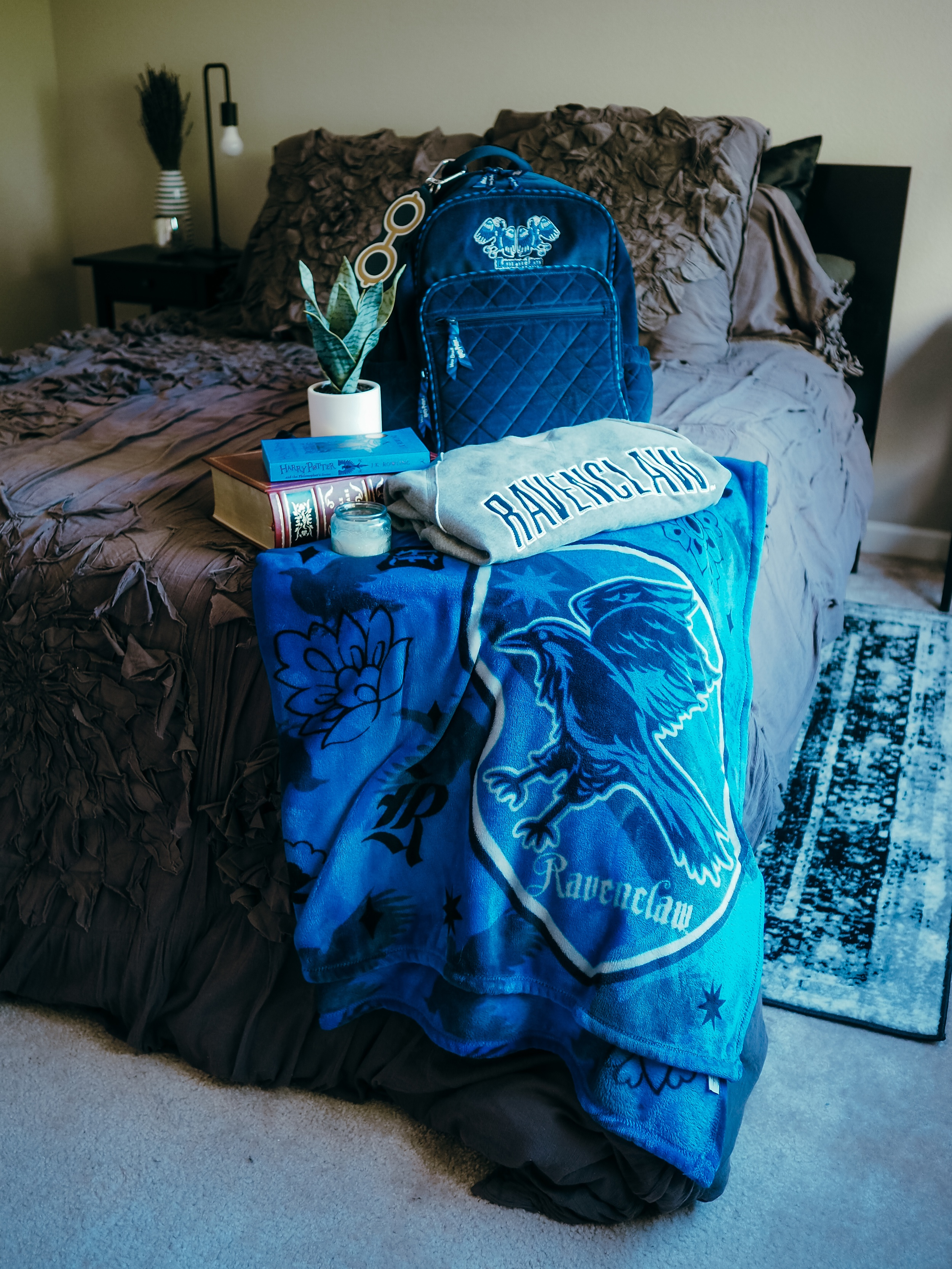 Ravenclaw aesthetic, but make it chic. Find out how to add some Ravenclaw aesthetic to your home, wardrobe, and life in this magical guide.